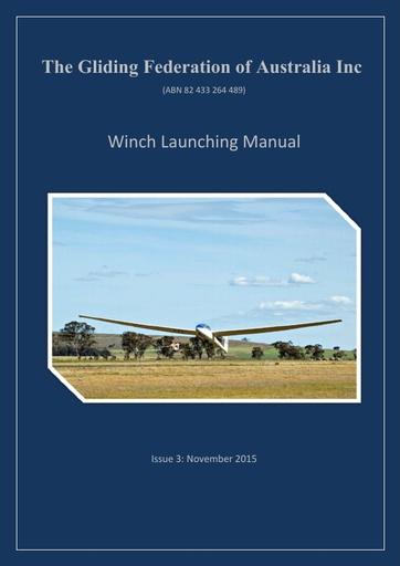 Winch Launch Manual (OPS 0007)