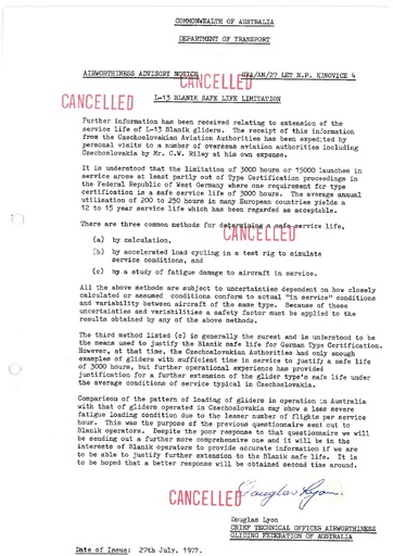Gfa 027an CANCELLED