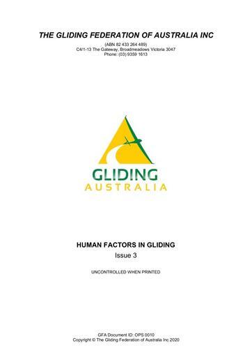 Human Factors (OPS 0010)