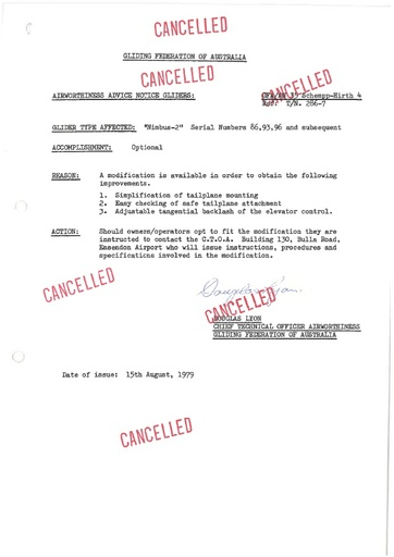 Gfa 035an CANCELLED
