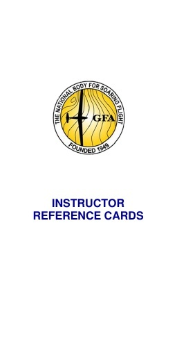 Instructor's Reference Cards