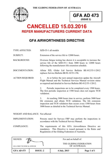 Gfa ad 473 Cancelled 15 03 2016
